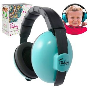 Friday Baby Noise Cancelling Ear Muffs, Blue